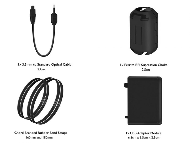 Chord Mojo Cable Accessory Pack