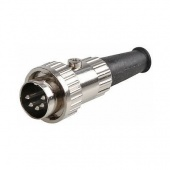 Prehkeytec 5 Pin DIN Plug, Locking, 180 Deg