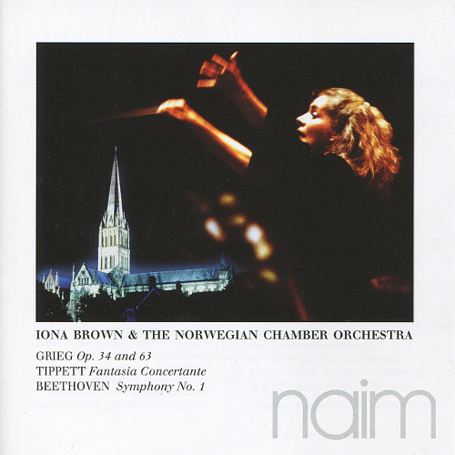 Iona Brown & The Norwegian Chamber Orchestra - Grieg, Tippett, Beethoven (CD)