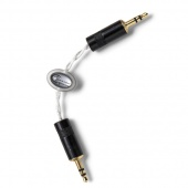 Astell&Kern PEF16, Piccolo Diamond Portable  Cable by Crystal Cable, 5 cm