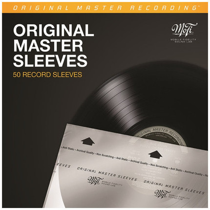 Mobile Fidelity Original Master Record Sleeves, 50 pcs.