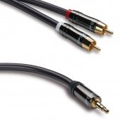 QED Performance J2P, 2 Phono to 3.5 mm Jack Plug