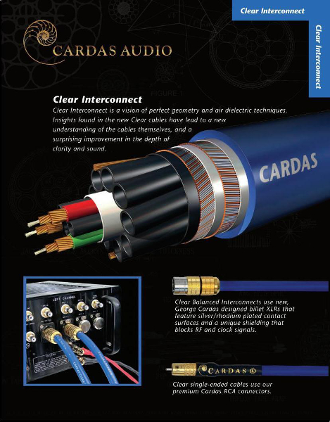 Cardas Clear Interconnect, RCA